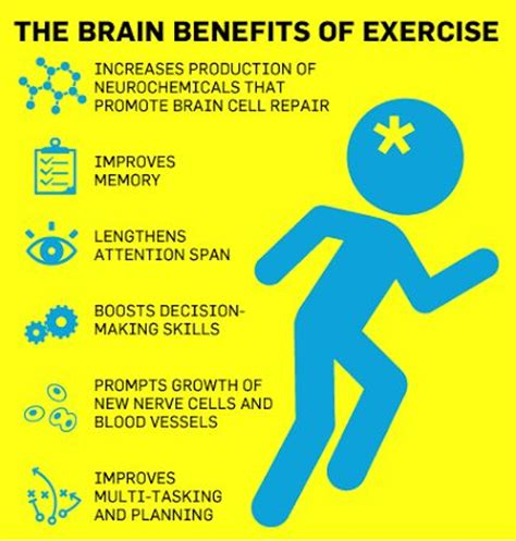 8 Great Ways To Exercise Your Brain by Important Facts About Your Brain And Exercise Benefits