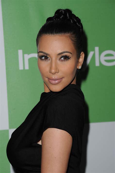 kim kardashian hairstyles 2010 kim kardashian braided bun braided bun lookbook
