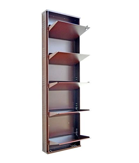 Shoe Rack Designs India by Vladiva 5 Level Metal Shoe Rack Buy Vladiva 5 Level