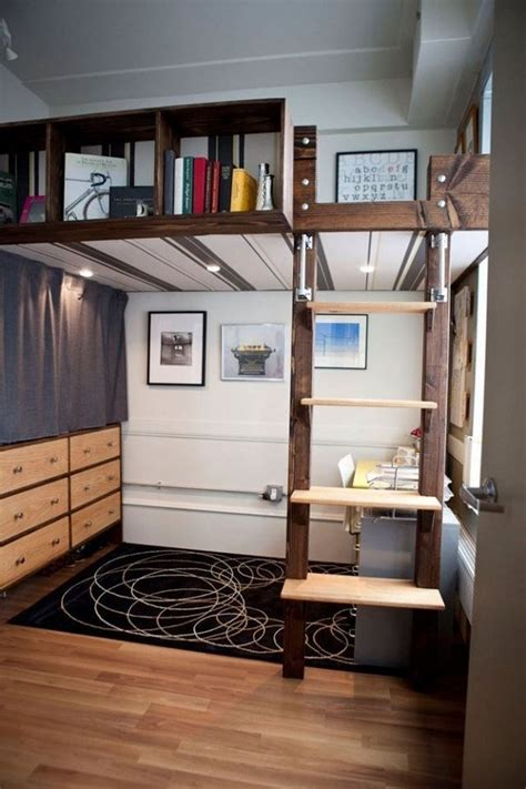 creative bunk beds creative interiors small apartment furniture bunk bed