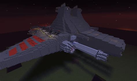 tutorial republic venator class republic star destroyer minecraft project