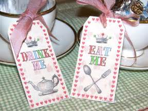bnute productions printable mad hatter eat me drink me tags