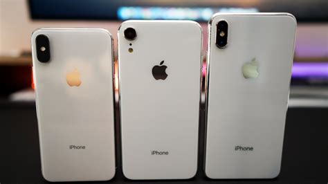 iphone x plus and iphone 9 prototypes on look