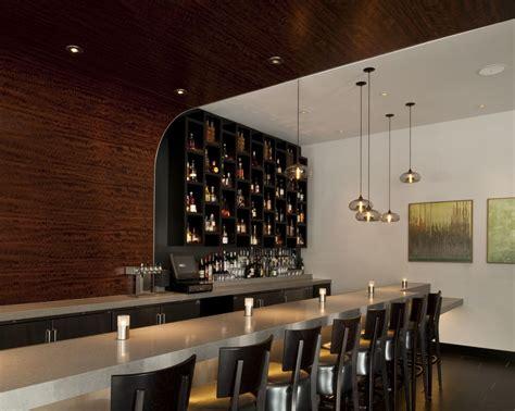 pendant lights over bar modern architecture bar and restaurant joy studio design