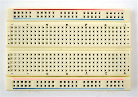 experimental breadboard and carbon composition resistor 301 moved permanently