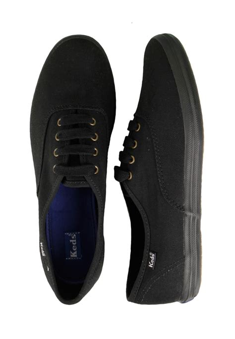 Keds Tripple Black White keds chion cvo black black shoes impericon worldwide
