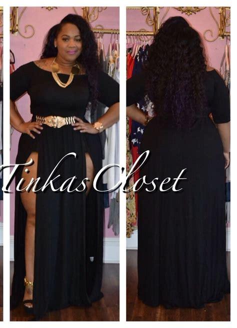 Tinka Closet Plus Size by Tinka S Closet Tinkalicious Janet Split Dress