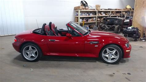 2002 Bmw M Roadster by 38k Mile 2002 Bmw M Roadster S54 Bring A Trailer