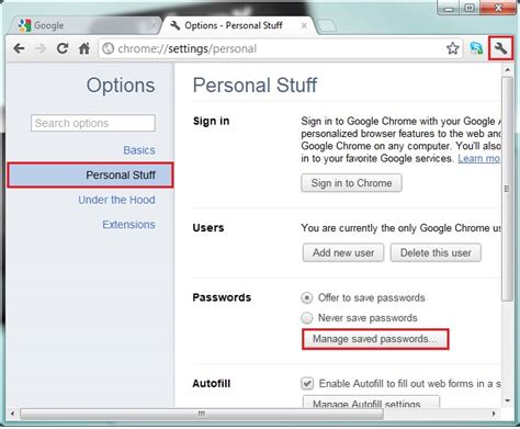 chrome saved passwords remove delete your saved passwords in ie firefox google