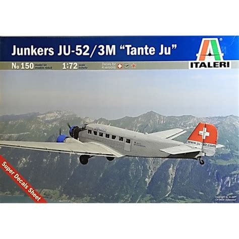 ju 52 3m bomber and italeri 1 72 150 junkers ju 52 3m tante ju aircraft kit italeri from kh norton uk