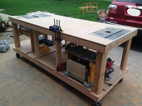 how to make a bench saw building your own wooden workbench make