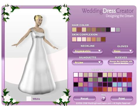 design free clothes online design your own wedding gown