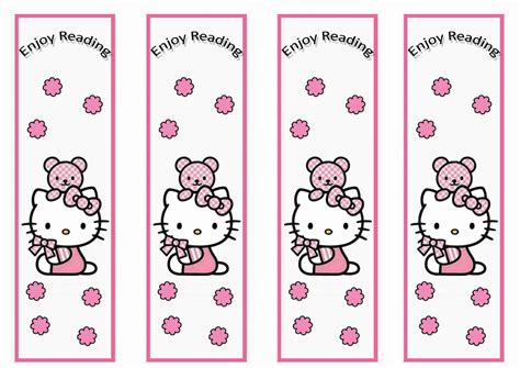 printable bookmarks hello kitty hello kitty bookmarks birthday printable