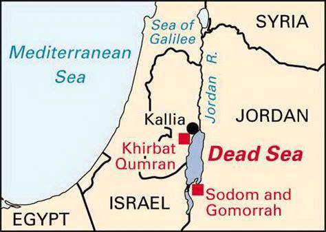 the dead sea map dead sea location encyclopedia children s