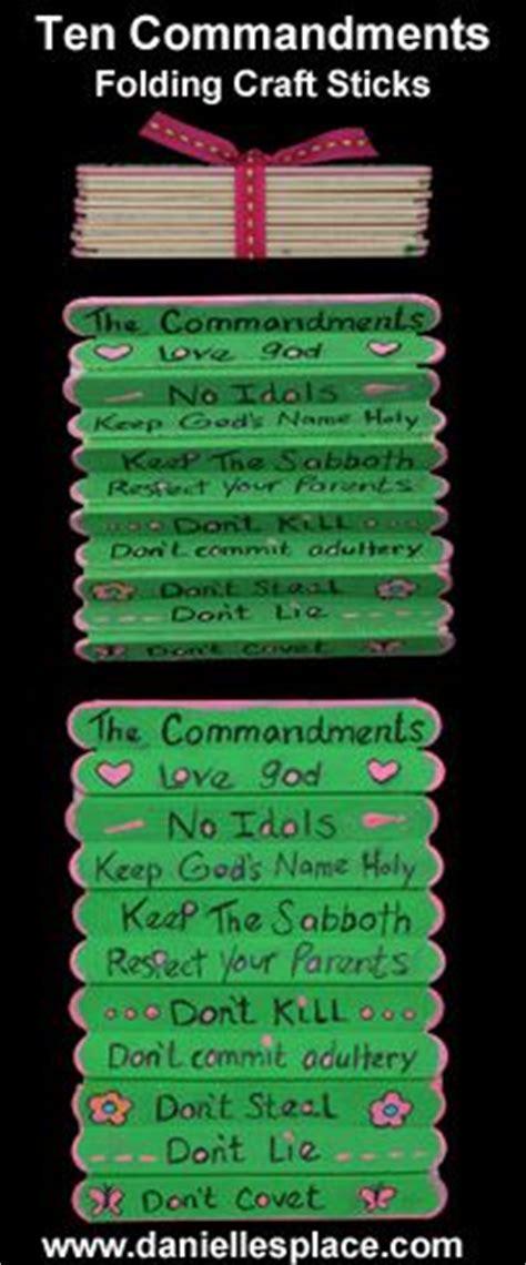 ten commandments craft ideas for ten commandment craft search bible crafts for
