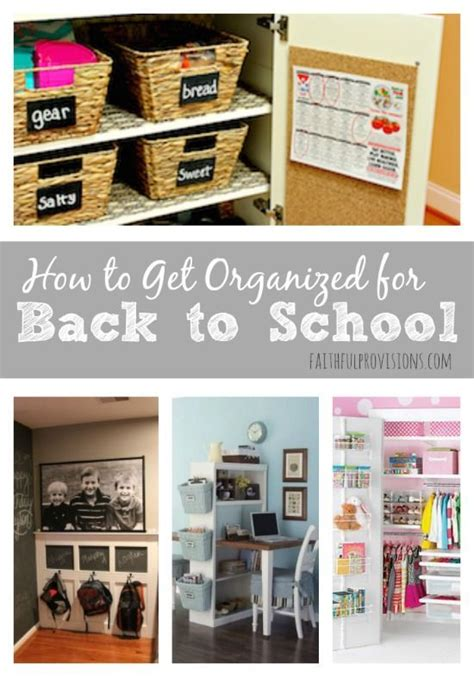 Back To School Desk Organization 344 Best Organised Home Images On Pinterest
