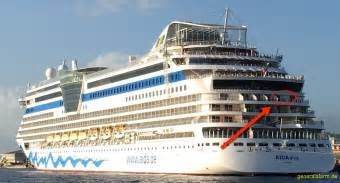 aidadiva deck 7 aidadiva 183 kabine 8175 balkon aida und mein schiff