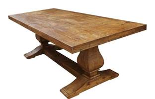 Wood For Dining Table Made Segovia Reclaimed Wood Trestle Dining Table By Mortise Tenon Custom Furniture