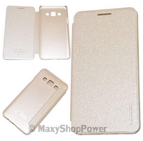 Leather Flip Nillkin Sparkle Samsung Galaxy A3 1 nillkin custodia sparkle leather flip book samsung galaxy a3 a300f gold