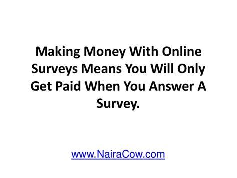 Make Money Taking Online Surveys - make money taking online surveys
