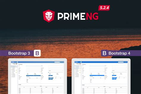 bootstrap themes jsf primeng 5 2 4 released with the new bootstrap 4 theme