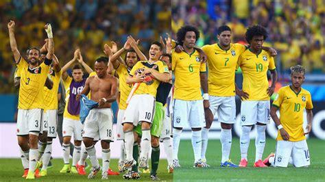 brasil contra colombia las 10 brasil vs colombia 4 julio radio turquesa radio turquesa