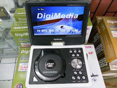 Tv Mobil Portable Daewoo 9 5 In Bagus With Rechargeable Li On Batter tv audio mobil dvd portable
