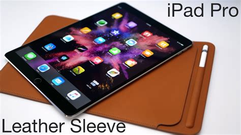 ipad pro leather sleeve apples  expensive case