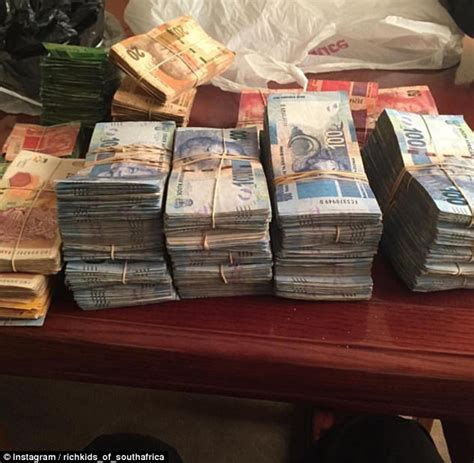 the rich of south africa flaunt their wealth daily mail