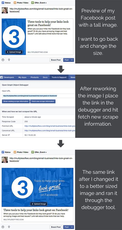 fb debugger three tools to help your links look great on facebook