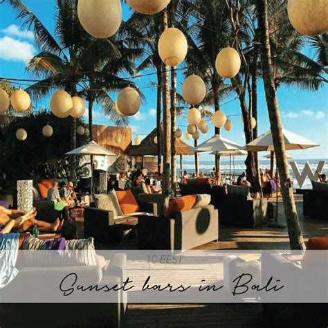 Top 10 Bars In Bali by The 10 Best Sunset Bars In Bali The Asia Collective