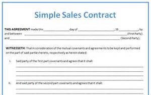 4 sales contract samplereport template document report