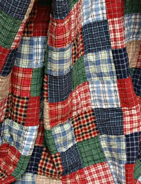Plaid Patchwork Quilt - best 25 plaid quilt ideas on gingham quilt