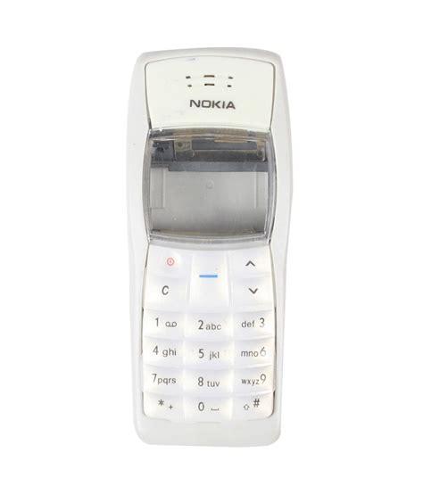 Casing Nokia 1108 1100 Wellcomm panel faceplate housing mobile white nokia 1100