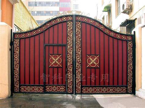 main gate colour scheme 围墙大门效果图 农村围墙大门效果图 庭院围墙大门效果图 鹊桥吧