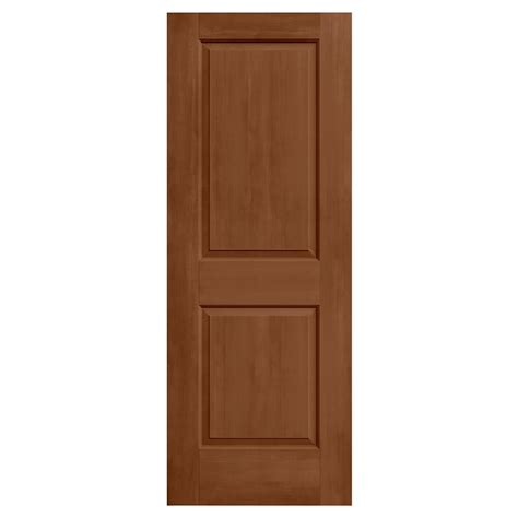 2 panel interior doors home depot jeld wen 28 in x 80 in stained hazelnut 2 panel hollow