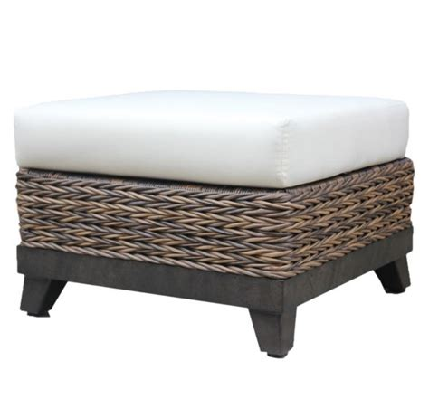ottomans insideout patio furniture