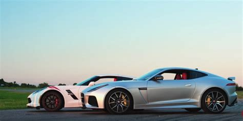 corvette f 2017 c7 corvette grand sport vs jaguar f type gm authority