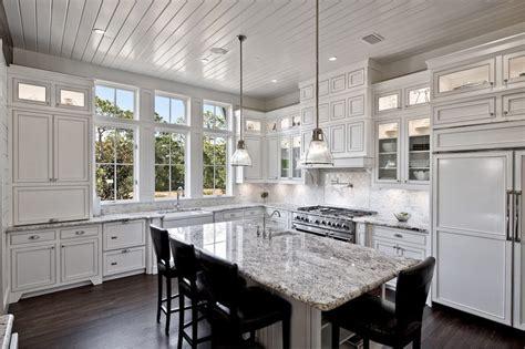 titantium and lennon granite kitchen kitchen traditional