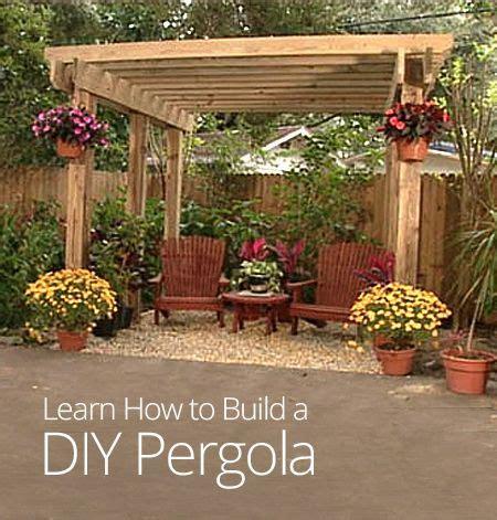 How To Build A Backyard Patio by How To Build A Diy Pergola Gardening For You Pergolas Patios Et Tonelles Diy