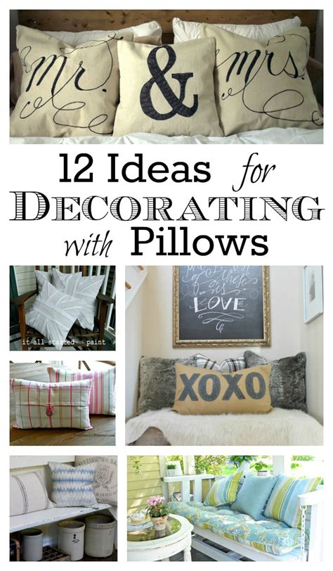 decorating with pillows 12 ideas for decorating with pillows town country living