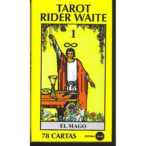 tarot rider waite libro y cartas distribucion solar