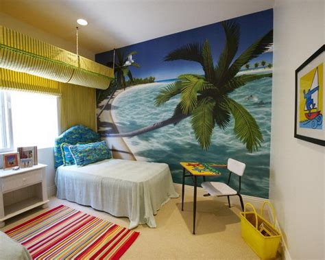 bedroom mural ideas tropical bedroom wall mural interior design