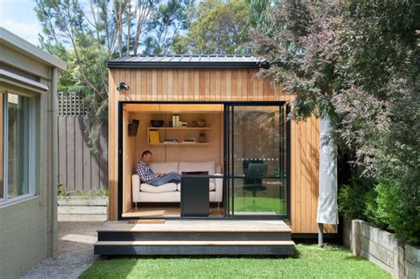 backyard office studio blackburn office studio contemporary shed melbourne