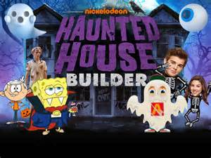 House Builder Games nickelodeon haunted house builder game