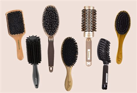 Types Of Hair Brush Bristles by 7 Best Boar Bristle Brushes For All Hair Types
