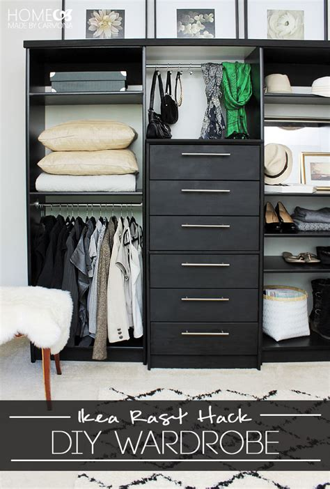 ikea walk  closet hack home decor