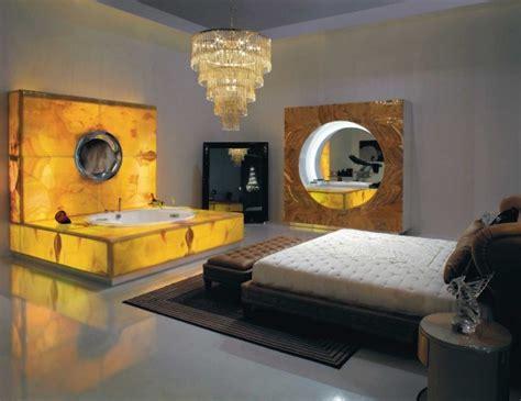 backlight spa bath with fireplace modern bathroom