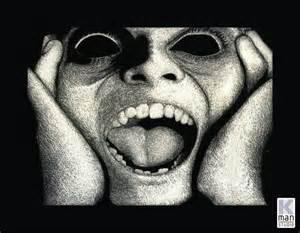 Te gustan los screamers ojos hambrientos