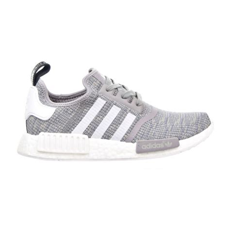 adidas nmd r1 running shoes solid grey white bb2886 size 8 5 original 100 ebay